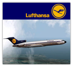 Lufthansa Boeing 727-200